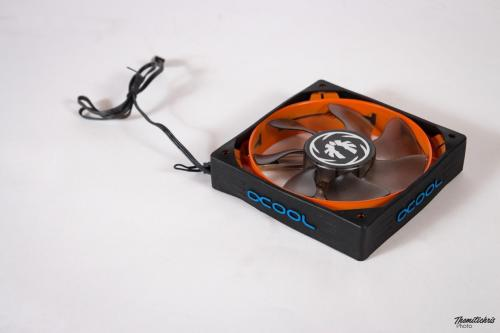 Alphacool Susurro Antinoise Silicone Fan Frame - 120mm - universal (1)