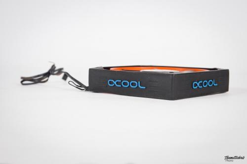 Alphacool Susurro Antinoise Silicone Fan Frame - 120mm - universal (4)